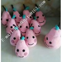 Buy cheap Factory Custom OEM High Quality Hand Knit Crochet Cotton Baby Pet  Animal Kid Toys and Dolls  DIY Fruit Toy from wholesalers