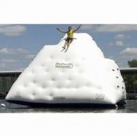 Buy cheap custom water climbing ball/inflatable water iceberg for water park from wholesalers