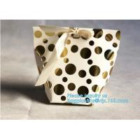 Buy cheap Pastry Cookie Paper Eco Retail Packaging With Handle Bagease Pack from wholesalers