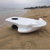 Buy cheap Adult Beach Surfboard Electric Body Board 3200W 36V Removable Battery ABS Material from wholesalers
