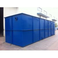 Buy cheap On Site Sewage Treatment Equipment , Wastewater Treatment Plant Equipment from wholesalers