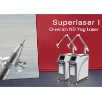 Buy cheap 1064 nm / 532nm Prefessional Q-Switch Nd Yag Laser Machine for Tattoo/pigmentation Birthmark Removal from wholesalers