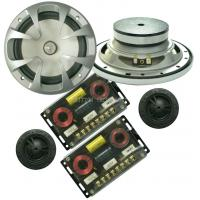 Buy cheap 86dB 6.5 Inch Car Component Speaker 30watts 2way Ferrite Magnet Y35 Grade from wholesalers