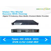 ASI IP Output Digital Satellite Receiver Irony Material 110-860 MHz Frequency Range Manufactures