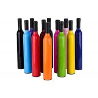 Buy cheap Gift Water Dripping Folding Wine Bottle Umbrella Rich Color Logo Printed Preventing from wholesalers