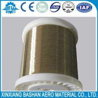 Buy cheap High Quality  0.25mm EDM Brass Wire for EDM Wire Cut Machine with low price by bashan from wholesalers