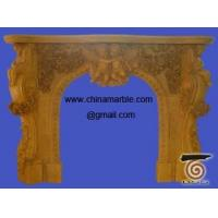 Buy cheap marble fireplace from wholesalers