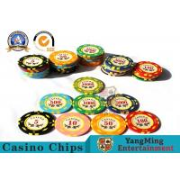 Wholesale 11.8g Colorful Casino Poker Chips And Cards / Custom Plaque Stickers from china suppliers