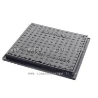 Buy cheap Manufacturer Direct EN124 B125 Double Seal Ductile iron Square manhole cover from wholesalers