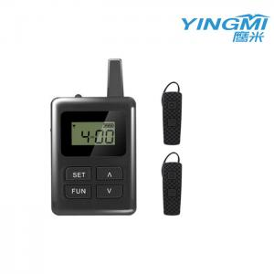 Wholesale Black Ear Hanging E8 Simultaneous Interpretation Equipment For Reception from china suppliers