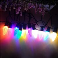 Buy cheap Multicolored LED Chrismtas Light Bulbs C9 Faceted Finished for Outside Outdoor from wholesalers