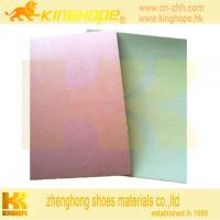 Buy cheap cellulose insole board with EVA  nonwoven insole board with 1.5mm EVA from wholesalers