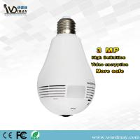 Buy cheap Wdm Security 360 Panoramic Camera 3.0MP Resolution Smart Home WiFi Lighting Bulb IP Camera from wholesalers