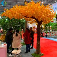 Wholesale Garden Autumn Ginkgo Biloba Plant For Home Decoration Artificial Materials from china suppliers