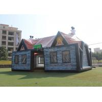 Wholesale Giant Advertising Inflatable Tent , Inflatable House Tent 11 X 6 X 5.8 M from china suppliers