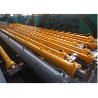 Hang Upside Down Welded Hydraulic Cylinders QPPY- D Type Hydraulic Hoist Manufactures