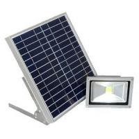 China High Brightest Solar Led Flood Lights Waterproof Ip65 , Solar Powered Garden Lights on sale