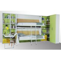 Buy cheap Space Saving Wooden Modern Bunk Wall Bed Bunk Bed for Kids and Student Dormitory from wholesalers