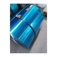 Buy cheap Blue Color Hydrophilic Industrial Aluminum Foil Aluminium Foil Strip 8011-O 0.14mm from wholesalers