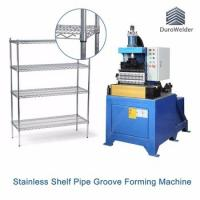 Buy cheap PGM Series Automatic Rolling Type Hydraulic Pipe Grooving Machine/Steel Tube Bamboo Joint Forming Machine from wholesalers