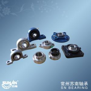 Small Cast Iron Pillow Block Bearing With Set Screws Or Eccentric Locking Collar
