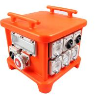 Wholesale EN60439 4 Portable Power Distribution Unit , UV8 Resistance Spider Electrical Box from china suppliers
