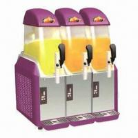 Buy cheap Slush machine with 3 tanks and CE certified from wholesalers