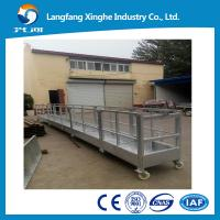 Buy cheap Construction swing stage equipment/temporary suspended platform ZLP630/cradle manufacturer from wholesalers