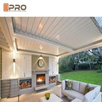 Buy cheap Anti - Uv Heat Insulated Automatic Aluminium Pergola With Remote Control System from wholesalers