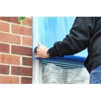 Buy cheap 0.025-0.20mm Clear Adhesion Blue Glass Scratch Protection Film from wholesalers