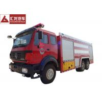 Buy cheap Northern Benz 10T Fire Fighting Vehicle Large Volume 9685×2500×3550mm from wholesalers