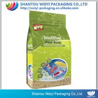 China Environmental Standing up packaging bag Laminated Pet Food Bag With Zipper (1.8kg-15kg ) on sale