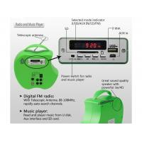 Buy cheap 10 Watt Portable Solar Panel Charger Solar Lighting Radio Music Player Easy Carry System from wholesalers