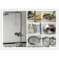 Buy cheap 316 Stainless Steel Floor  Laboratory Fittings Laboratory Emergency  Eewash and Shower Station from wholesalers