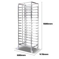 Buy cheap Aluminum Alloy Bakery Bread Oven Baking Tray Cart Trolley Cake Rack Cart For Bakeware from wholesalers