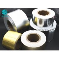 Buy cheap Bright Silver Gold Aluminum Tin Foil Wrapping Paper 50gsm - 80gsm Grammage from wholesalers