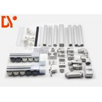 China Industrial Cold Rolled Lean Metal Pipe Connectors For ESD Workbench / Work Table on sale