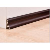 Wholesale Luxury Wooden White Plastic PVC Decorative Skirting Boards / Cover For Veranda from china suppliers