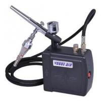 Buy cheap AC100~240V 0.6A 7cc Professional Airbrush Makeup tattoo Kit - with dual action airbr from wholesalers