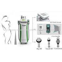 Buy cheap cryoliplysis cavitation and RF three in one body slimming cryolipolysis machine from wholesalers