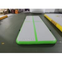 Wholesale 3.5m Air Floor Tumbling Mat / Inflatable Air Jump Track For Gymnastics from china suppliers