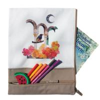 Buy cheap Eco Friendly Custom Canvas Bags Sustainable With Zipper Closure from wholesalers