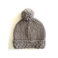 Buy cheap Custom OEM Hand Knit Hats Handmade Baby Beanies Crochet Caps and Photo Props for Newborns Boys & Girls Modern Natural from wholesalers