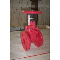 Visual Indicator DI Resilient Seated Gate Valve  by Red Epoxy Powder Coating