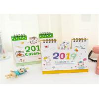 Buy cheap 22X17 Custom Monthly Desktop Calendar Printing 80gsm Paper Material from wholesalers