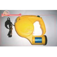 Buy cheap Designer Led Flashlight Retractable Dog Leash / golden retriever leash from wholesalers