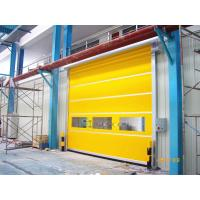 Buy cheap English Man Machine Interface Industrial High Speed Door For Warehouse from wholesalers
