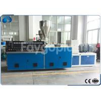 Buy cheap Twin Screw Plastic Extruder Machine Extrusion Line For Plastic Tube / PVC Pipe from wholesalers