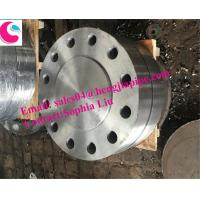 Buy cheap PRESSURE RATING:300# A105 ANSI B16.5 BLIND FLANGES from wholesalers