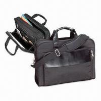 Buy cheap Men's business briefcase, measures 12.5x17x5.5-inch, available in black product